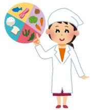 栄養指導のイメージイラスト